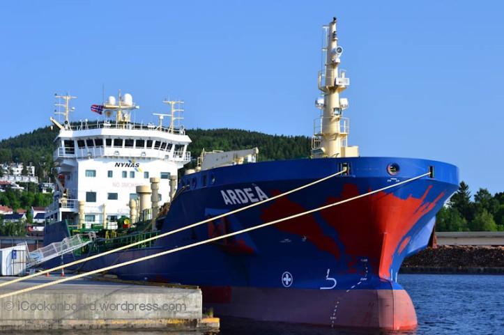 4700 DWT Bitumen Tanker Photo by Nino Almendra