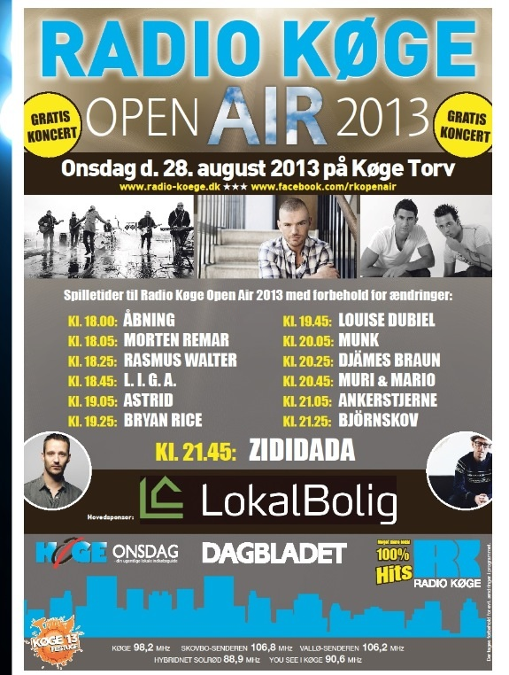 Radio Køge Open Air 2013