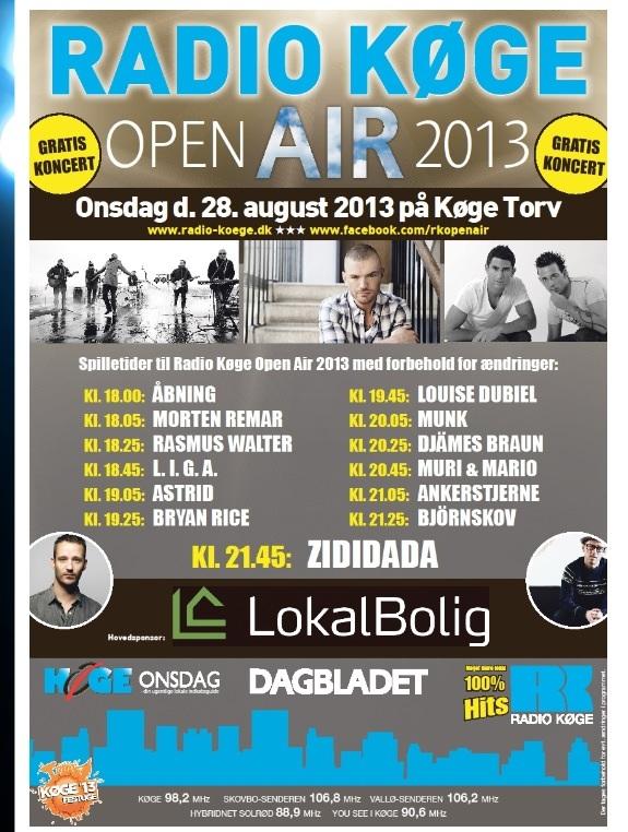 Radio Køge Open Air 2013