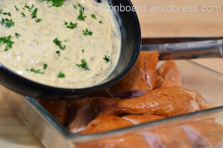 Ardean Garlic Mayo Dip for Smoked Chicken Photo by Nino Almendra