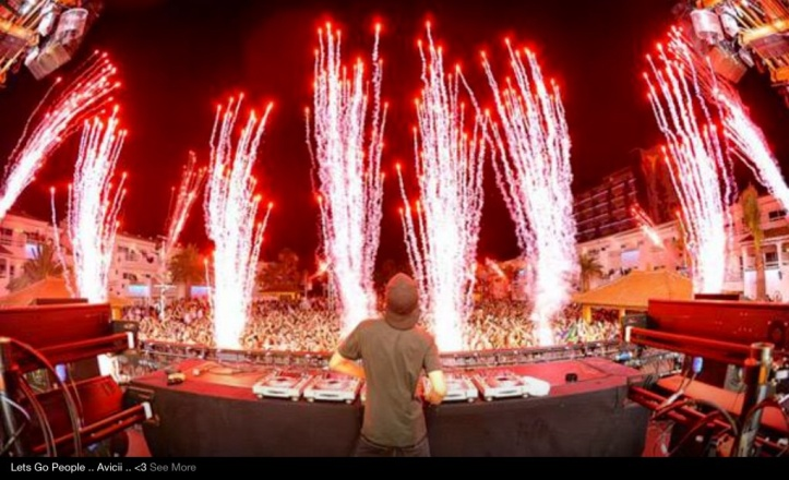 The Swedish Dj, Avicii!