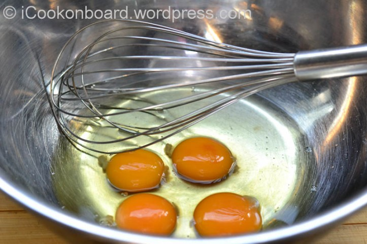 Don't forget to preheat your oven before breaking these eggs.