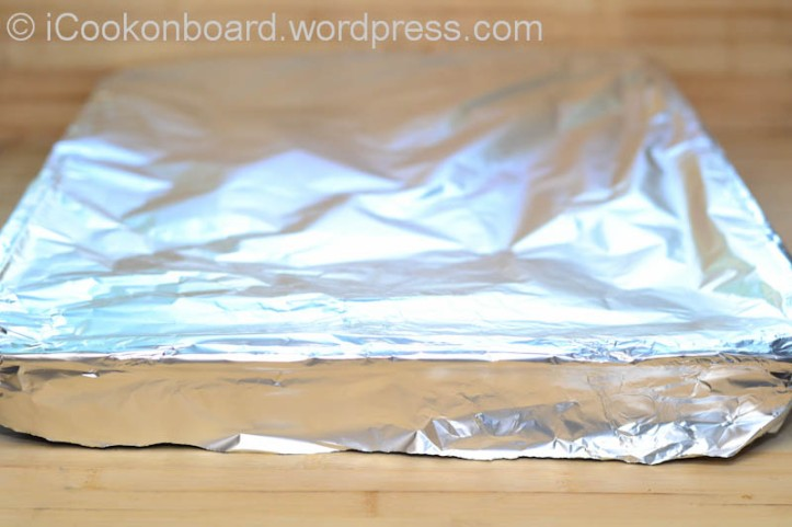 Wrap it up with an aluminum foil.
