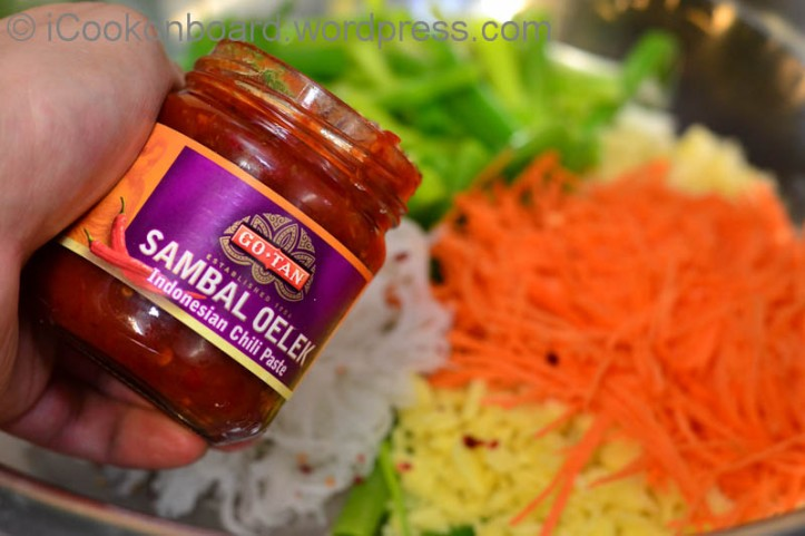 Sambal Oelek is a good substitute for Crushed Dried Chillies. It is mild, perfect for 1st timer to try Kimchi.