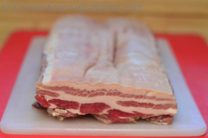 Prep your 2kg Pork Belly.