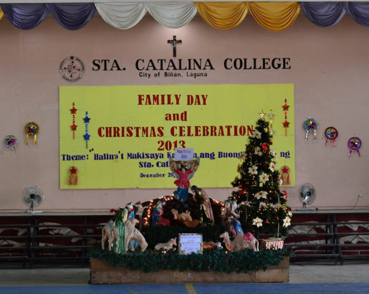 Sta. Catalina College is the 1st Catholic School in Biñan City, Laguna Philippines. Photo by Nino Almendra