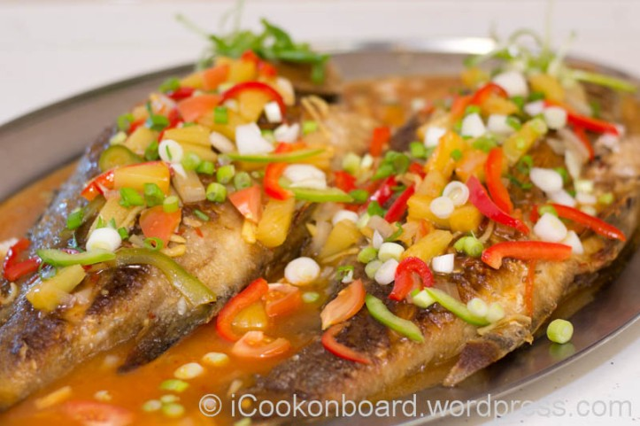 Sweet and Sour Red Snapper Photo by Nino Almendra