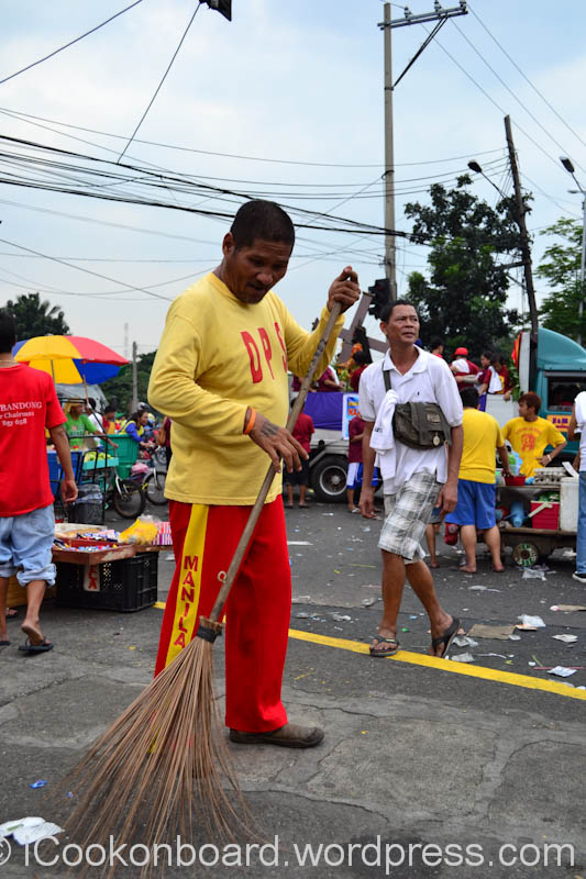ABOVE ALL, THANKS TO ALL THE METRO STREET SWEEPER !!!  May the Blessed Black Nazarene bless you all...