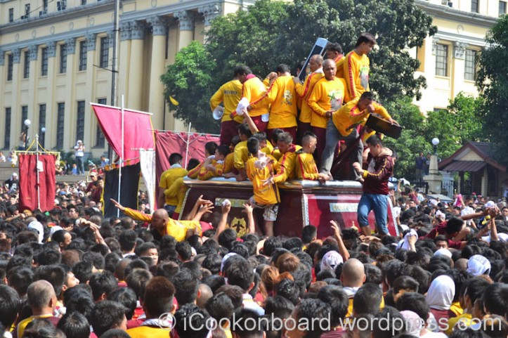 Pista ng Itim na Nazareno Photo by Nino Almendra