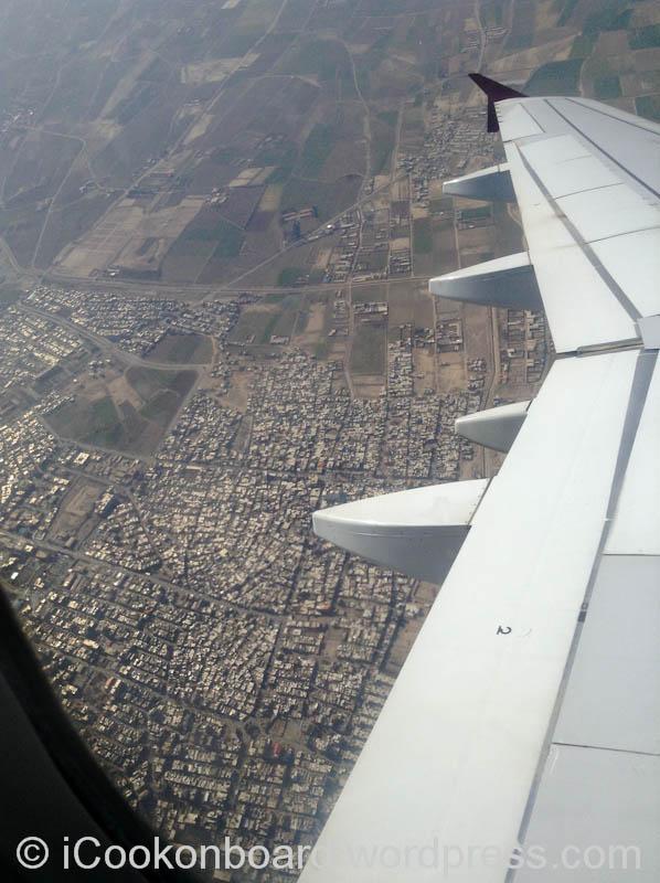 Above Tehran, Iran.