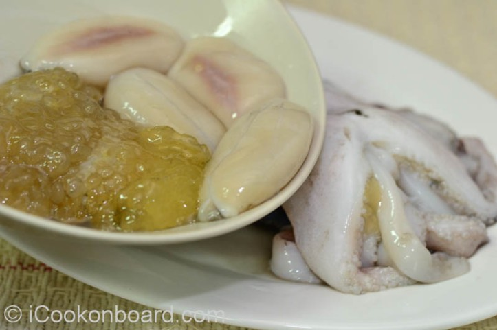 Edible roes can also be added to some Cuttlefish dishes.