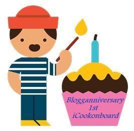 iCookonboard 1st Blogganniversary Cupcake-001