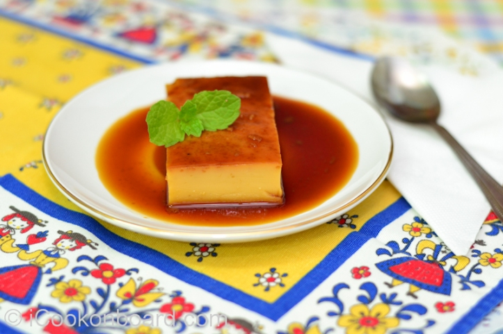 Leche Flan  Photo by Nino Almendra