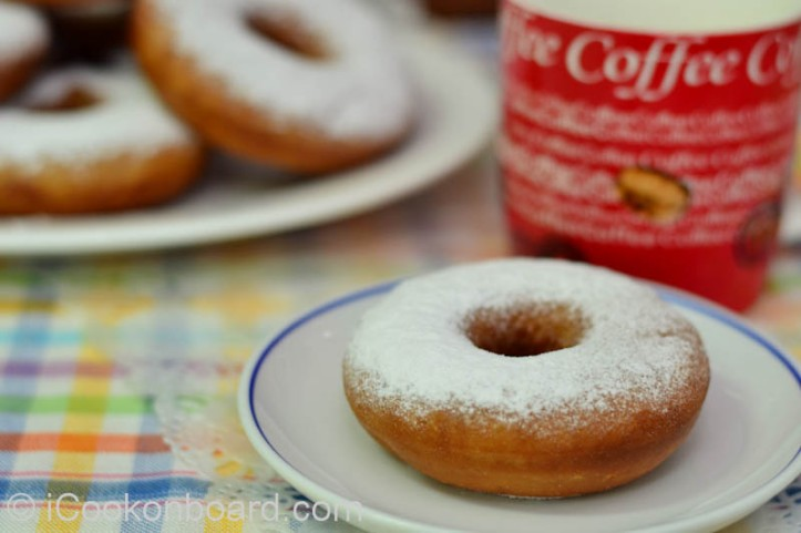Powdered Sugar Donuts Photo by Nino Almendra