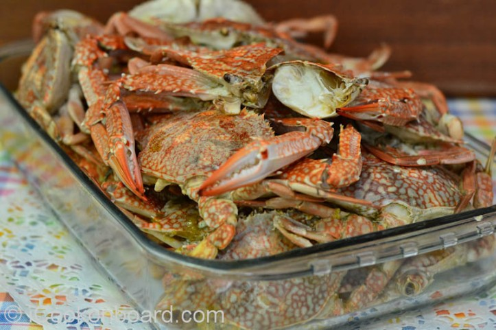 Steamed Blue Crabs Photo by Nino Almendra