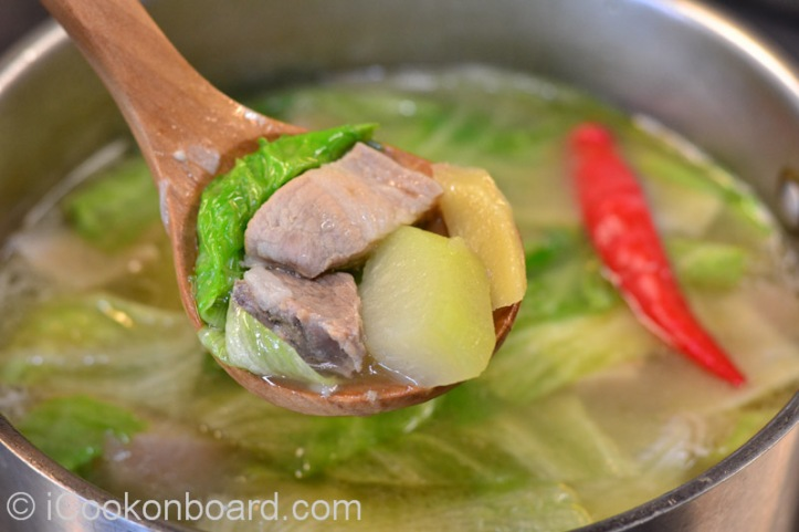 Pork Tinola Photo by Nino Almendra