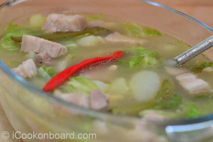 Pork Tinola with Lemongrass. Photo by Nino Almendra