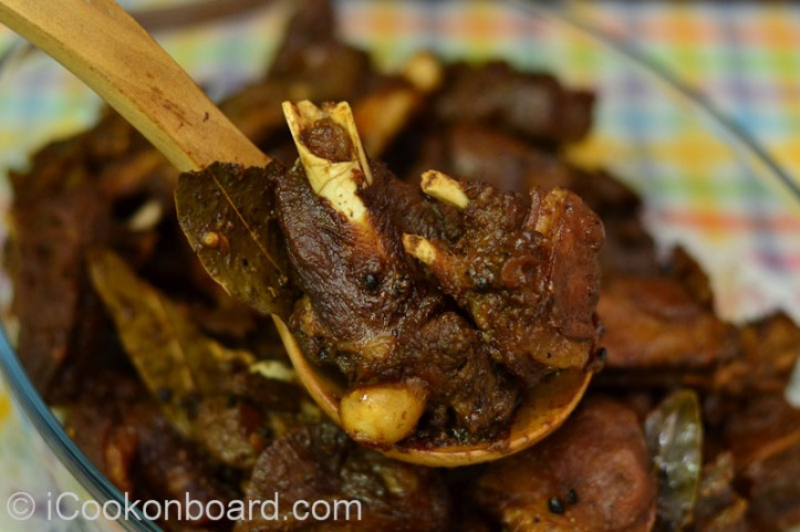 Adobong Kambing Photo by Nino Almendra