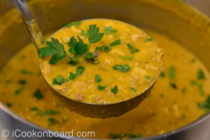Ärtsoppa (Swedish Yellow Pea Soup) Photo by Nino Almendra