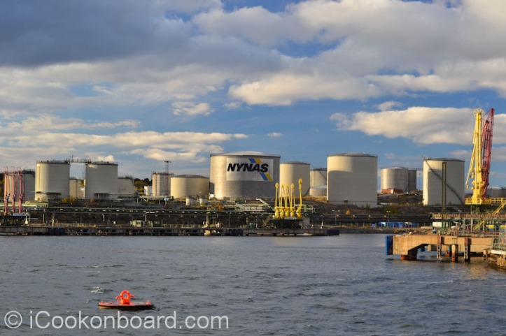 Nynas Oil Refinery at Nynäshamn, Sweden Photo by Nino Almendra
