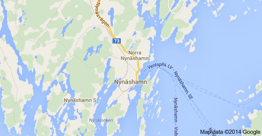 Nynashamn Map