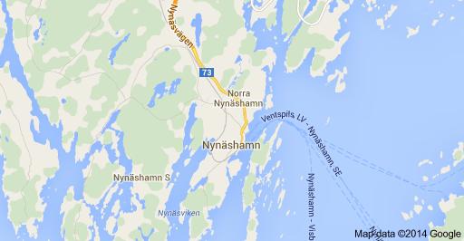 Nynashamn Map