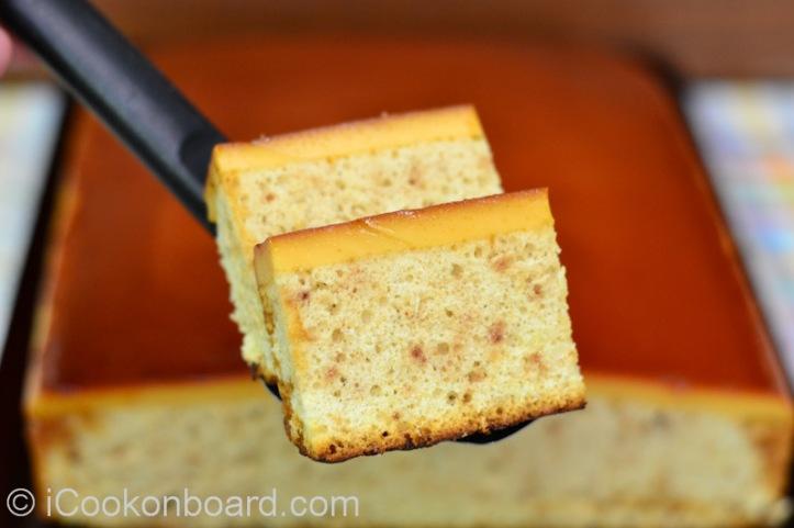 Custard Chiffon Cake Photo by Nino Almendra