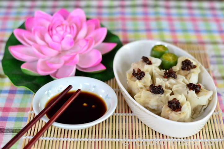 Garlic Chilli Oil on Siomai Photo by Nino Almendra