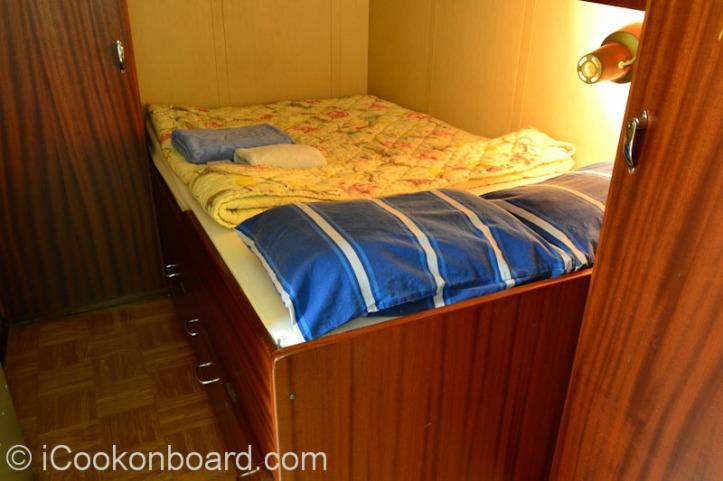 My Cabin's Bedroom Onboard M.T. Persia