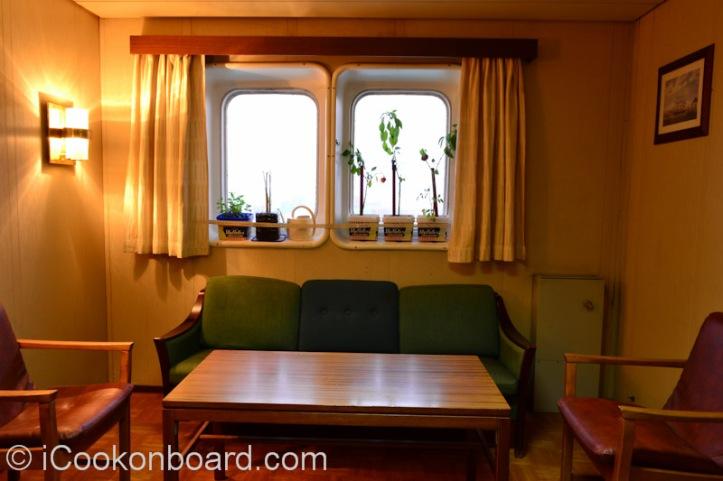 My Cabin's Livingroom Onboard M.T. Persia.