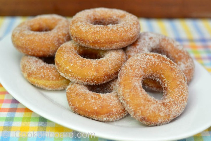 Sugar Coated Donuts Photo by Nino Almendra