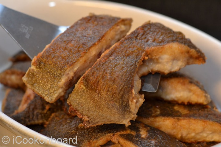 Fried Breaded Plaice Photo by Nino Almendra