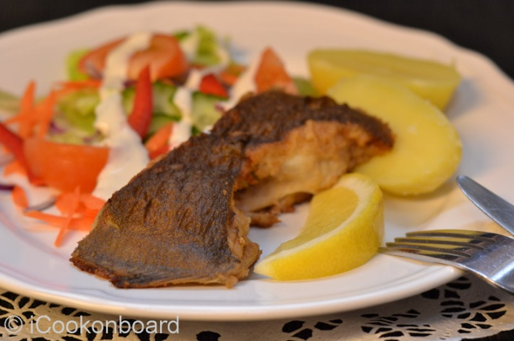 Fried Breaded Plaice  Serve with fresh slices of lemon wedges. Photo by Nino Almendra