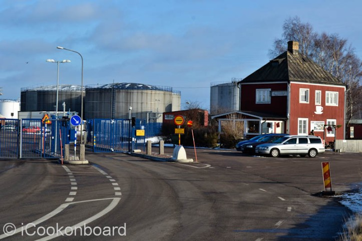 Kalmar Port main gate.