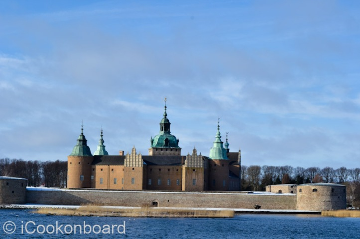 Kalmar Castle along the road on my way back to my ship Mergus.