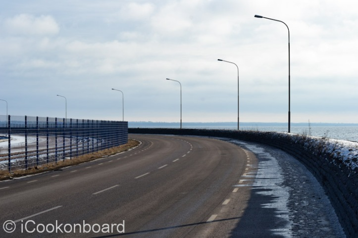 Its around15 to 20 minutes of walk from the Kalmar city center to the main gate of Kalmar port.