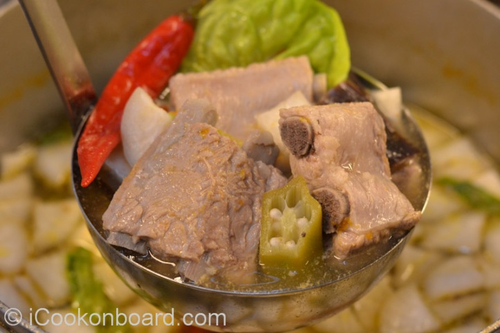 Pork Ribs Sinigang Photo by Nino Almendra