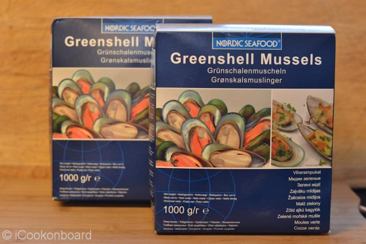 Frozen Green Mussels are good to use onboard. It's ready to cook and have a very long shelf life.