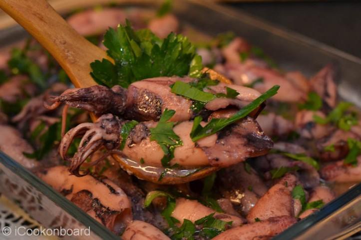 Garlic Sauteed Calamares Photo by Nino Almendra