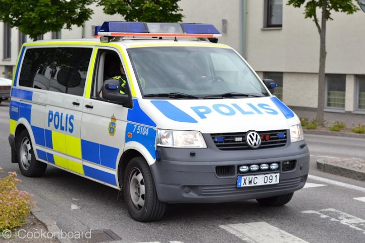 The current Police Car of Falkenberg, Sweden. This might join the