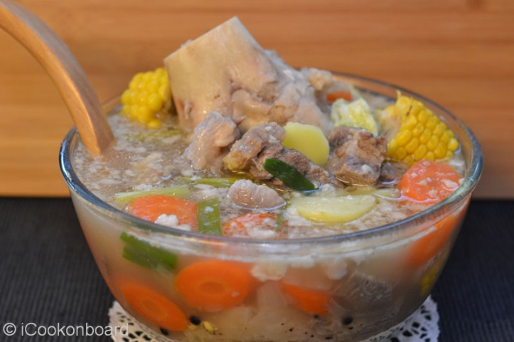 Bulalo (Beef Femur Soup) Photo by Nino Almendra