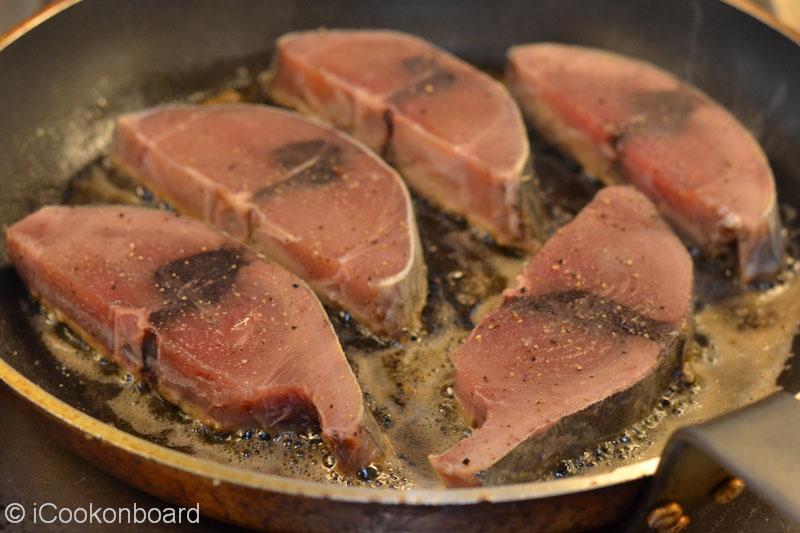 how to cut yellowfin tuna steaks