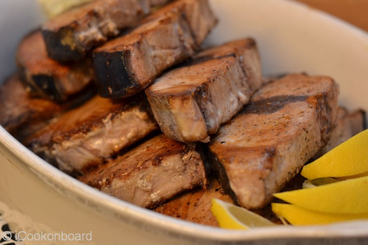Pan Seared Yellowfin Tuna Steaks Photo by Nino Almendra