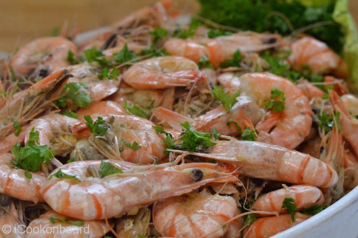 Garlic Butter Prawns Photo by Nino Almendra