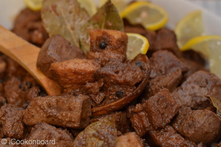 Pork Adobo with Liver