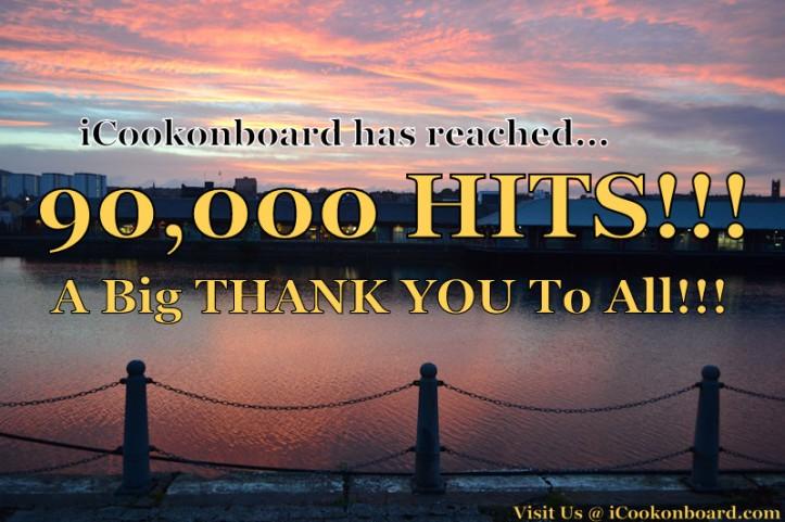 iCookonboard reached 90k