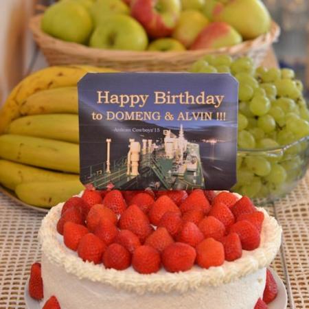 Quick ang Easy Birthday Cake