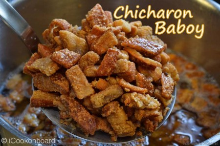 Chicharon Baboy (Pork Cracklings)