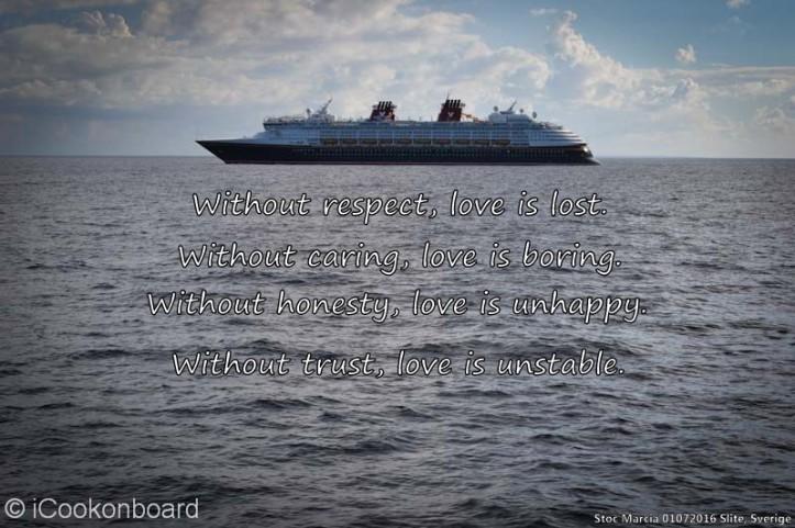 Respect Quotes - Disney Magic cruising Skagen