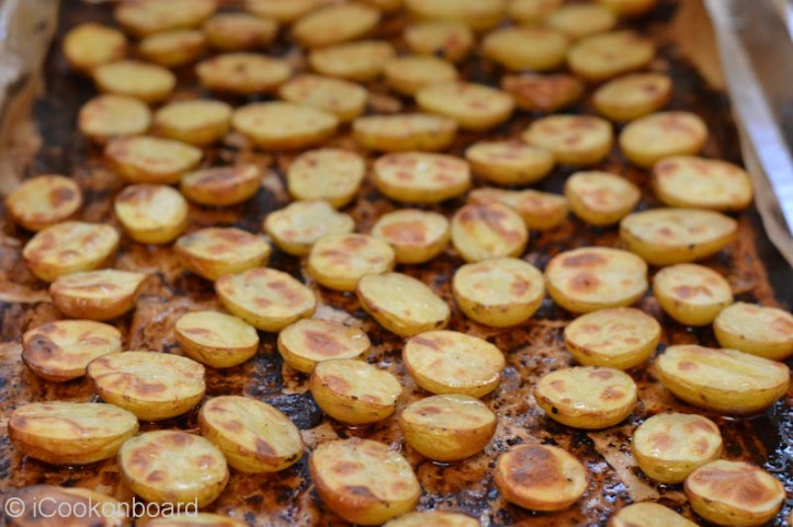 Oven Roasted Potatoes in Bacon Drippings